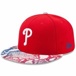 a2ecc7dff Details about Philadelphia Phillies Hat Visor Craze 9FIFTY Adjustable New  Era Snapback