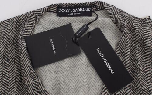 It36 Xs Svart Dolce Us2 Gabbana Topp Ull Cardigan Nwt Gensere Hvit P8RnS6HqHx