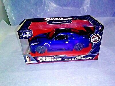 R35 Ben Sopra Die-Cast 1:32 Scale New Box Fast /& Furious Brian/'s Nissan GT-R