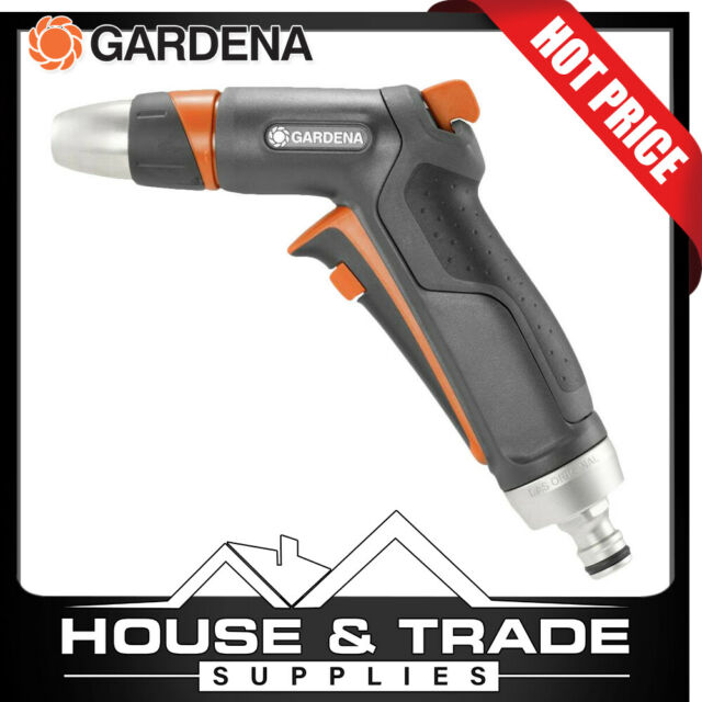 Gardena Hose Nozzle Premium Garden Cleaning Sprayer 18305