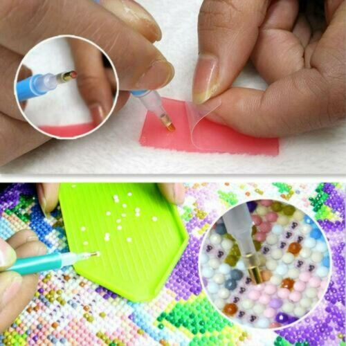 5D Full Drill Round Diamond Painting Art Craft Cartoon Pokemon Craft Art Leisure