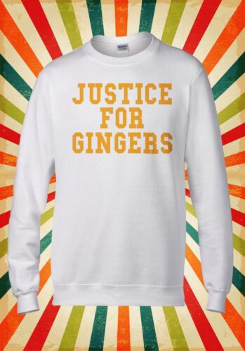 Justice For Ginger Funny Cool Funny Men Women Unisex Top Hoodie Sweatshirt 1689