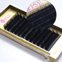 PREMIUM SILK C J B D Curl .15mm size 8 to 13mm Soft False Eyelash Extension Tray