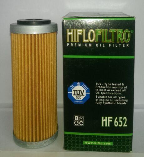 Husqvarna FE350 // FE350S 2014 to 2018 HF652 HifloFiltro Oil Filter