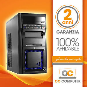 PC-DESKTOP-COMPUTER-FISSO-ASSEMBLATO-INTEL-QUAD-CORE-RAM-8GB-SSD-240GB-WIN-10