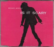 "MICHAEL JACKSON - RARO CDs PROMO "" IS IT SCARY (RADIO EDIT) """