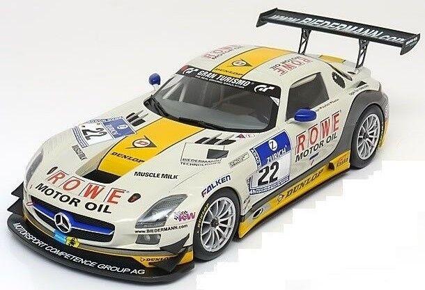MNC151133122 - MERCEDES BENZ SLS AMG GT3 Rowe Racing  - 1 18