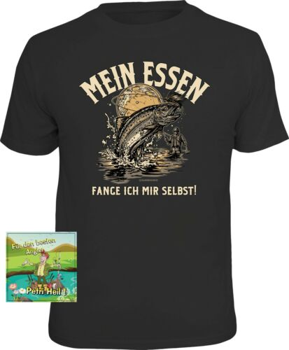 1 Aufkleber für Angler Angeln Angel Angelsport Geschenk Set Fun Shirts T-Shirt