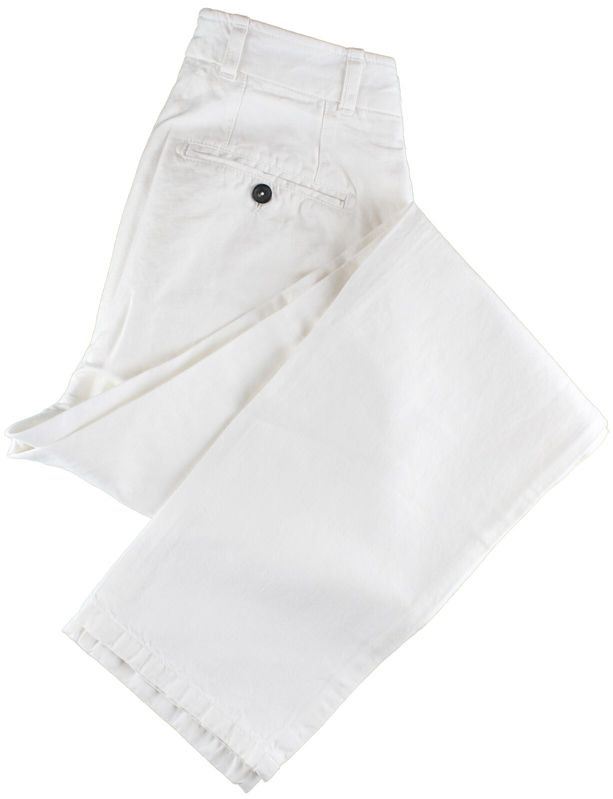 NWT EIDOS by ISAIA white casual pants Morgan  IT 46 US 30