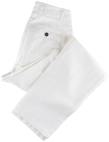 NWT EIDOS by ISAIA white casual pants Morgan Italy IT 46 US 30
