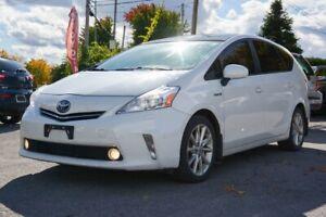 2012 Toyota Prius V LEATHER, AC, PANORAMIC SUNROOF, HEATED SEATS LEATH
