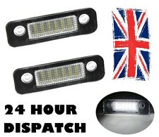 2 x FIESTA 02- MONDEO FUSION 8000K WHITE SMD LED LICENSE NUMBER PLATE LIGHT
