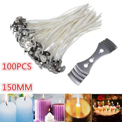 Candle Cores Making Handmade Stable Paraffin White Kit Assembly With Sustainer