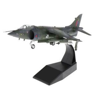 1/72 Harrier Jet Kämpfer Britischen Flugzeug Diecast Flugzeug Modell