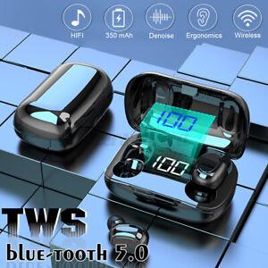 XT7-TWS-bluetooth-5-0-Kopfhoerer-In-Ear-Ohrhoerer-Sport-Stereo-Headset-mit-Ladebox