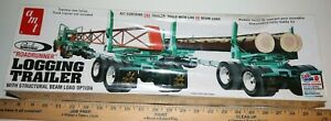 AMT-Logging-trailer-build-with-Log-or-034-I-034-Beam-1-25-scale-Model-Kit-New