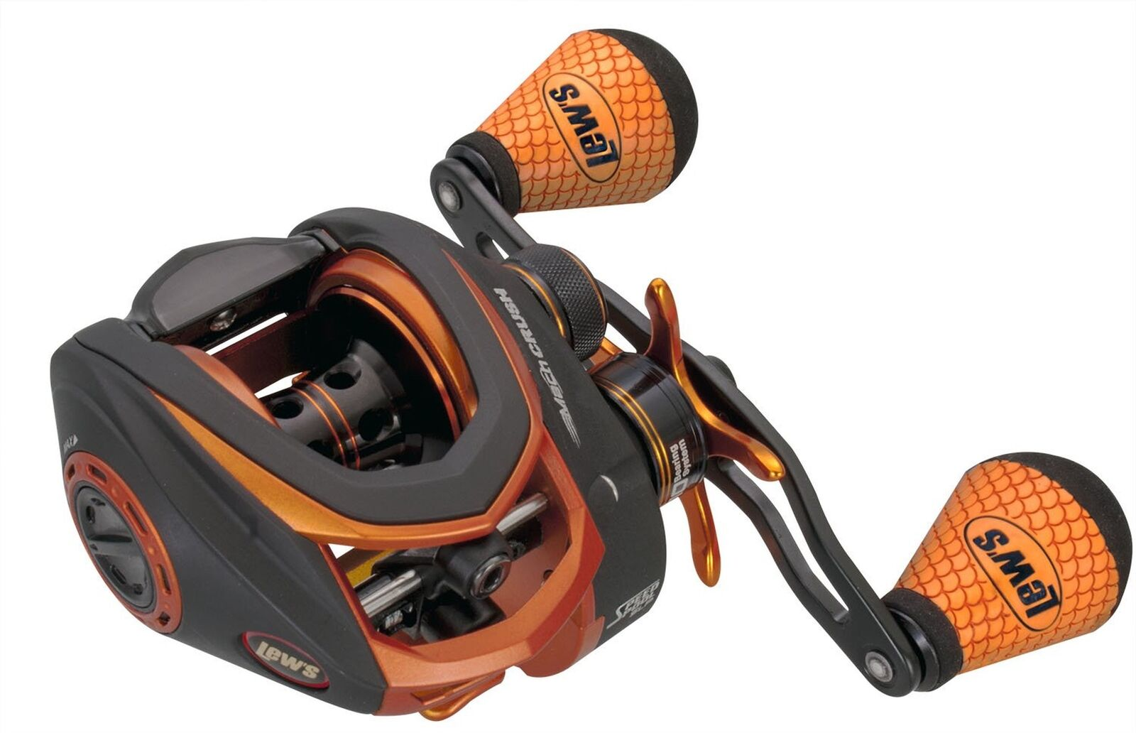 Lews Mach Crush Speed Spool Baitcast Reel LH 7.5 1
