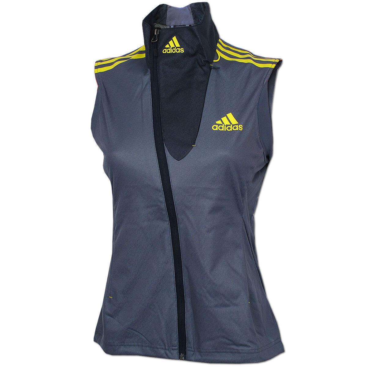Adidas Damen Athleten Athleten Athleten Weste Outdoor DSV Langlauf Biathlon Running Wintersport ae8620