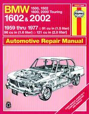0240 Haynes BMW 1500 1502, 1600, 1602, 2000 e 2002 (1959 - 1977) FINO AL MANUALE S