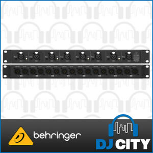 Details about Behringer ULTRALINK MS8000 Ultra-Flexible 8-Channel  Microphone Splitter w/ 16Out