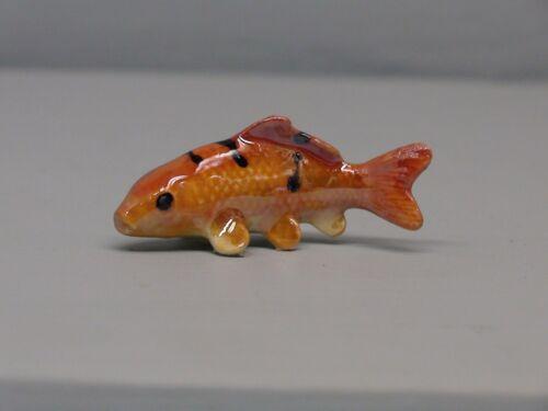 Hagen Renaker Orange Striped Koi Fish