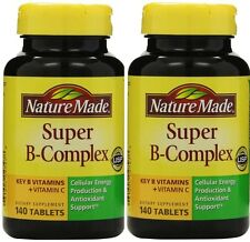 Nature Made Super B-Complex 280 Tablets with Vitamin C & Folic Acid
