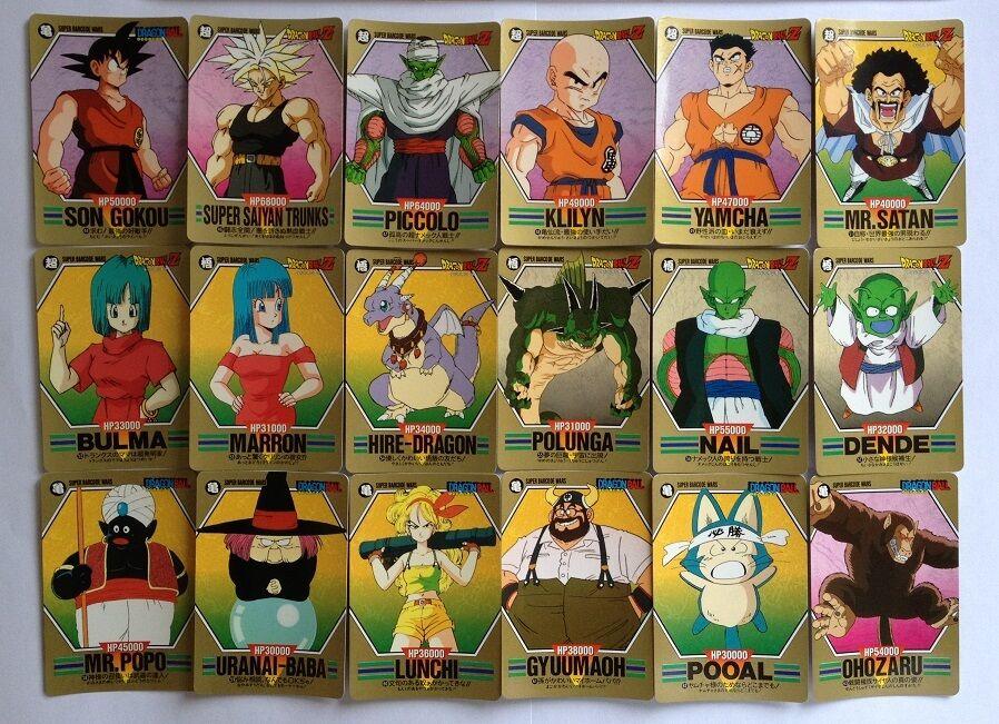 Dragon Ball Z Super Barcode Wars PART 2 Reg Set 36 36