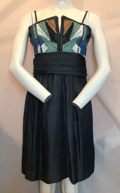 BNWT DIESEL STUNNINL-Eva Leather Collection Dress. Größe M.   SAVE