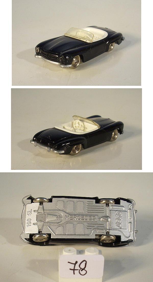 Lego 1 87 mercedes benz 190sl negro m. Weisser Ia rare Color 60er JH.