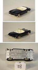 Lego 1/87 Mercedes Benz 190sl schwarz m. weisser IA rare Farbe 60er Jh. #78