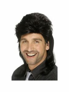 80-039-s-Mullet-Wig-Black-Stag-Party-Italian-Book-week-Sports-Relief-Fancy-Dress-uk