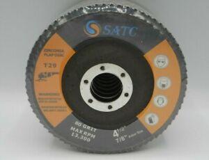 "10 Pack 4.5/"" x 7//8/"" Black Hawk 80 Grit Zirconia Flap Disc Grinding Wheels T29"