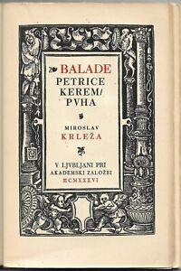 Miroslav Krleza Ballate Di Petrica Kerempuh Slovena Edizione