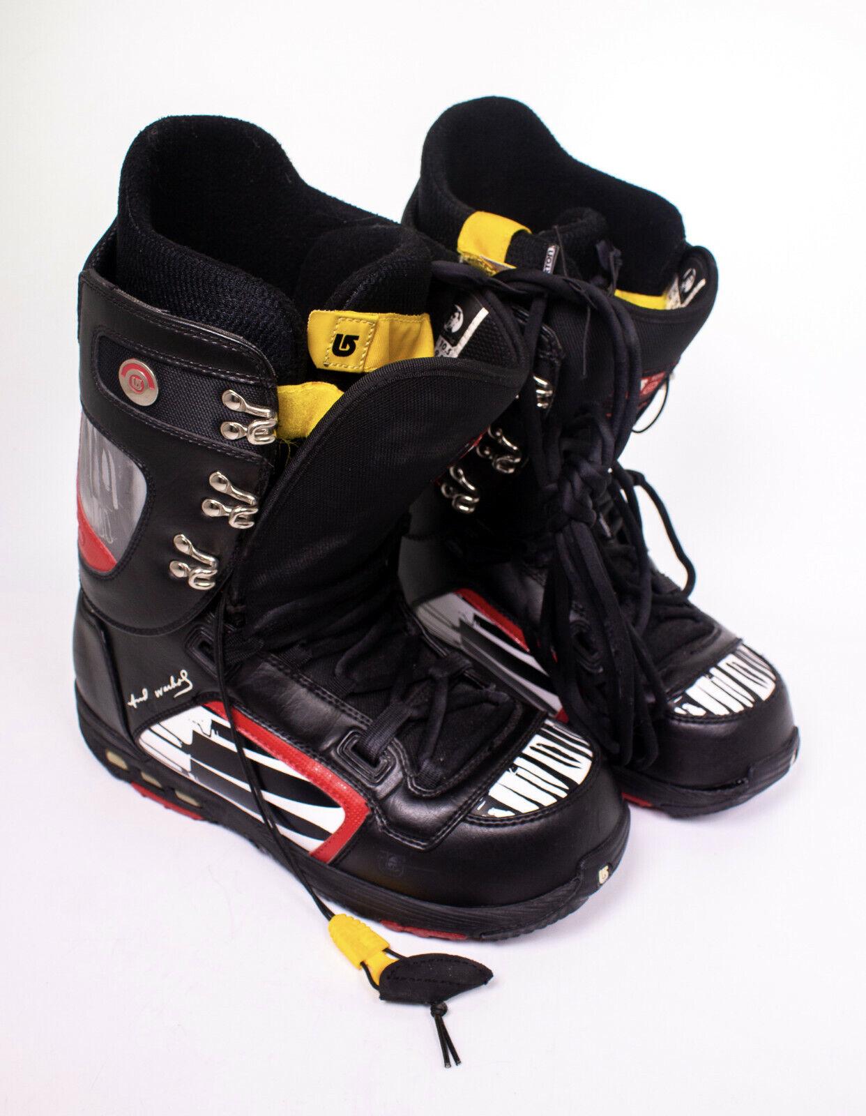 Burton Andy Warhol Snowboard Stiefel Größe 10.5