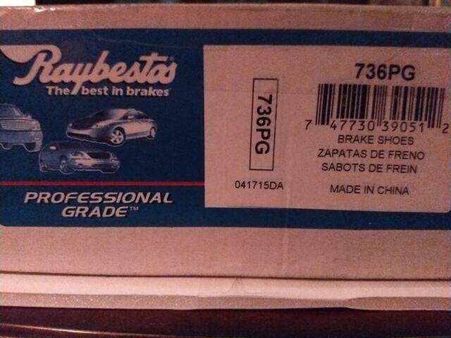 Raybestos 736PG Professional Grade Drum Brake Shoe Set