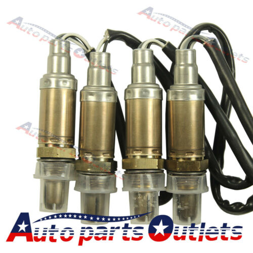 New 4pcs O2 Oxygen Sensor Pack Left or Right Side Downstream OR Upstream