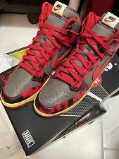 Nike Dunk High 1985 Red Acid Wash Sz 12 (DD9404-600)