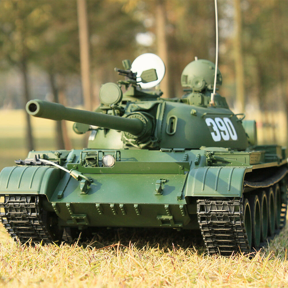 Hooben 1 16 RC Tank 2.4G Russian Heavy Tanks T55A Remote-Controlled Panzer KIT