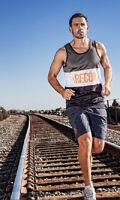 (l) Athletic Recon Dagger Men's Sports Tank Top Polyester