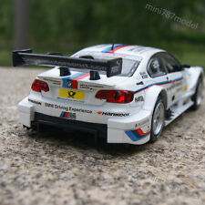 BMW M3 DTM (E92)Alloy Diecast Model Cars Sound&Light 1:32 White Collection&Gifts
