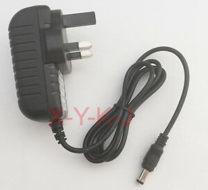 AC adapter DC 6V 1.2A 1200mA mini sew simple sewing machine power supply UK plug