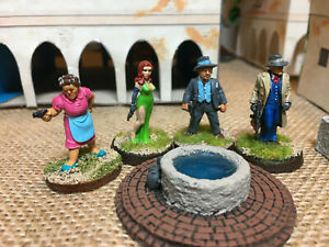 Painted-28mm-Pulp-era-figures-from-Pulp-Figures-Pulp-Alley-and-Copplestone