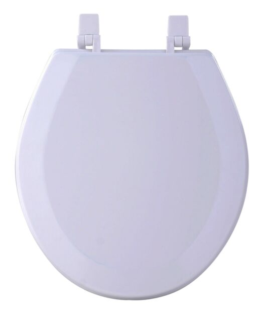 Hard Wood Standard Round Toilet Seat White For Sale Online