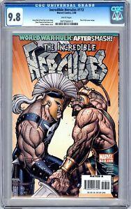 CGC 9.8 Incredible Hercules #113 (Feb 2008, Marvel) Thor #126 cover homage.
