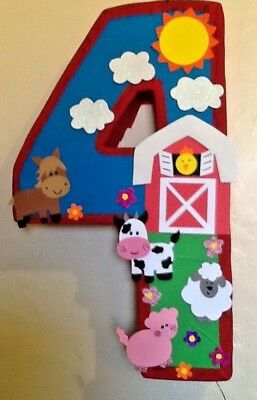 Farm Pinata Barn Pinata Number Farm Pinata Farm Animals Birthday Party Barn Ebay