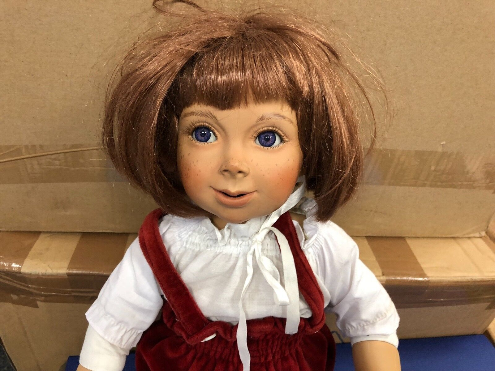 Größle Schmidt ⭐️⭐️ Porzellan Puppe 60 cm. ⭐️⭐️ Top Zustand Zustand Zustand 9b870a