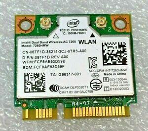 Details about ✔️ Original Dell Latitude E5440 7260HMW Wireless-AC7260  CN-08TF1D Bluetooth 4 0