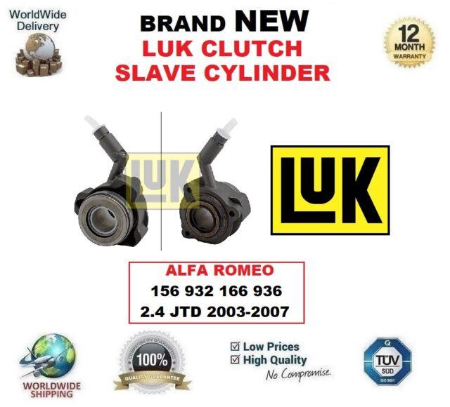 Luk Cylindre Récepteur Embrayage pour Alfa Romeo 156 932 166 936 2.4 JTD