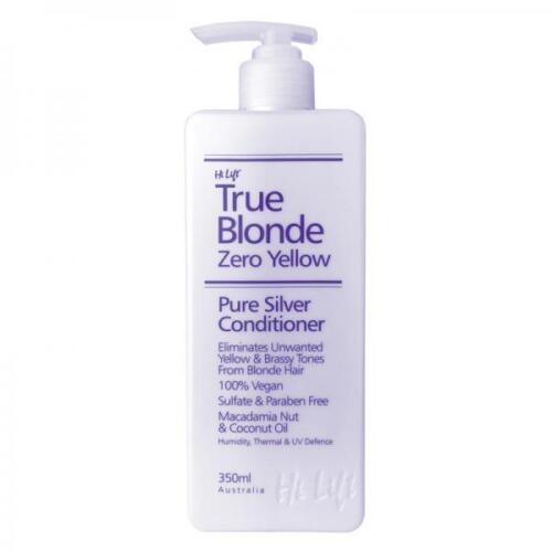 1 of 1 - Hi Lift TRUE BLONDE Zero Yellow Pure Silver Shampoo 350ml +/- Conditioner 350ml