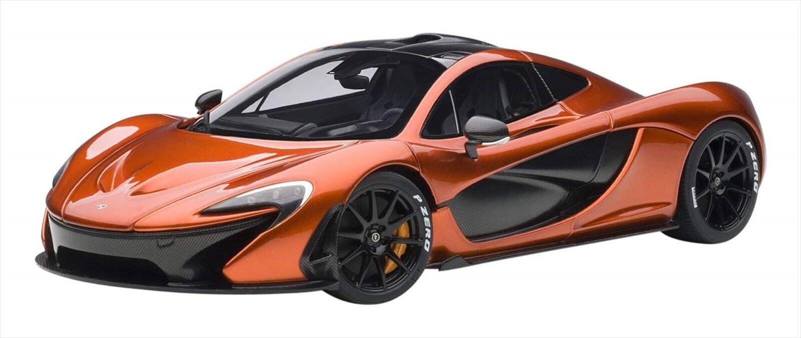 AUTOart 1 18 McLaren P1 Metallic arancia   arancia Caliper Japan NEW